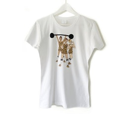 """T-shirt """"Strong Together"""" - vuxen (dam)"""