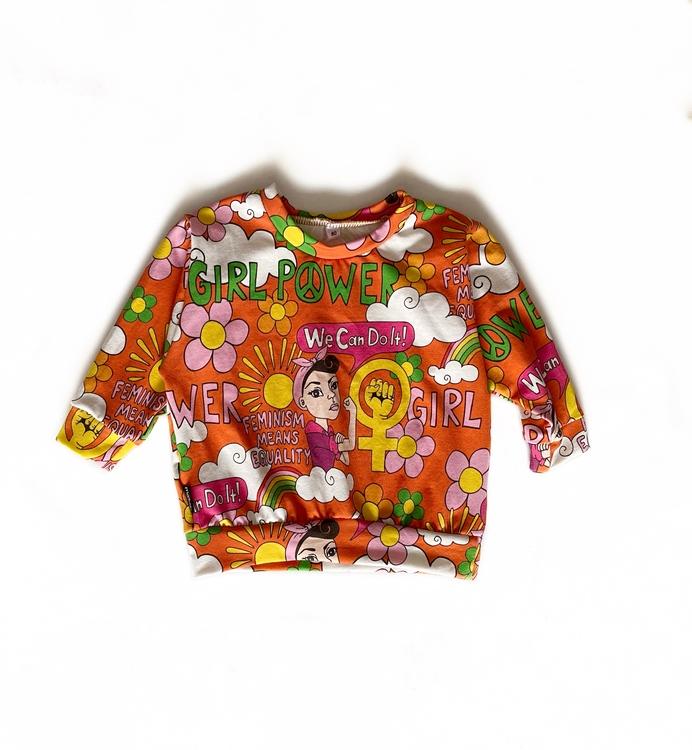 Sweatshirt - Girl Power