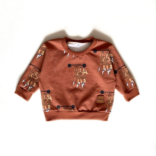 Sweatshirt - Strong Together brown