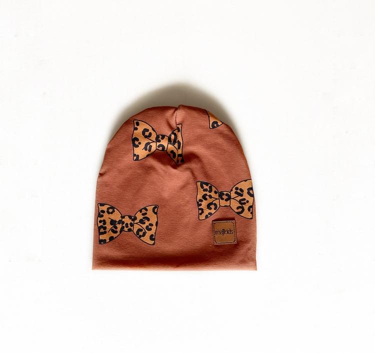 Mössa -  Leorosett brun