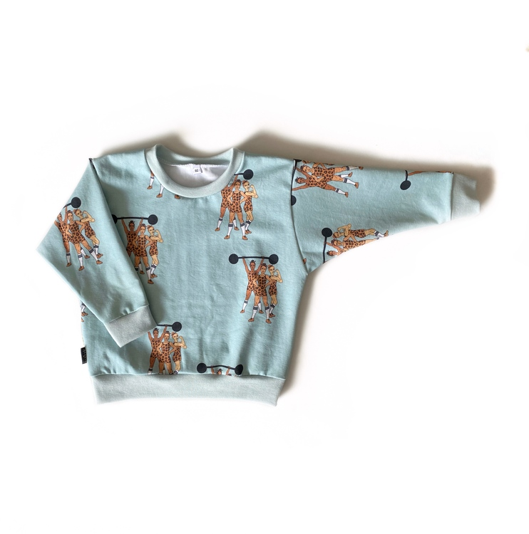 Sweatshirt - Strong Together mint