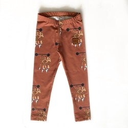 Leggings - Strong Together brown