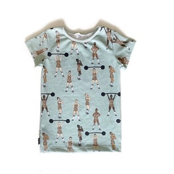 T-shirt - Equally Strong leo mint