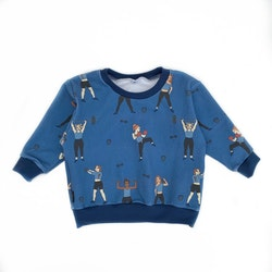 Sweatshirt - Strong Girls 21 blue