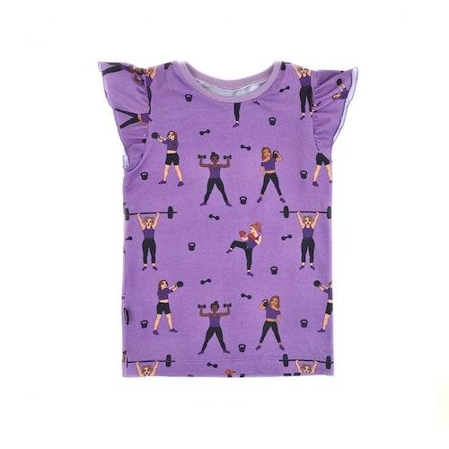 Topp med vingärm - Strong Girls 21 lilac