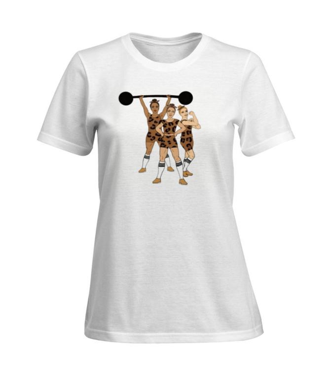 "NY! T-shirt ""Strong Together"" - vuxen (dam)"