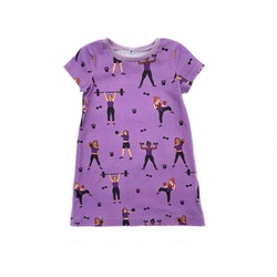 A-linjeklänning - Strong Girls 21 lilac