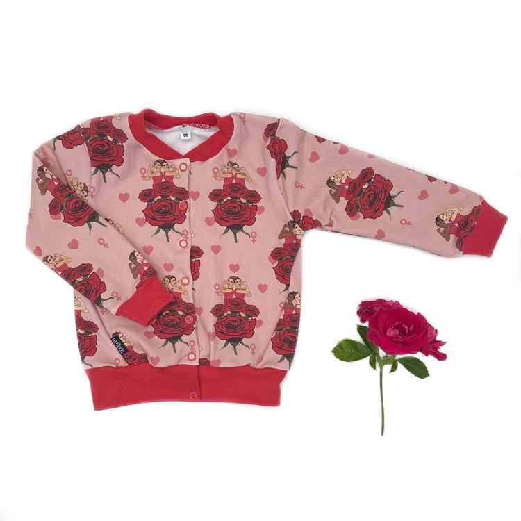 Bomberjacka - Strong Girl roses