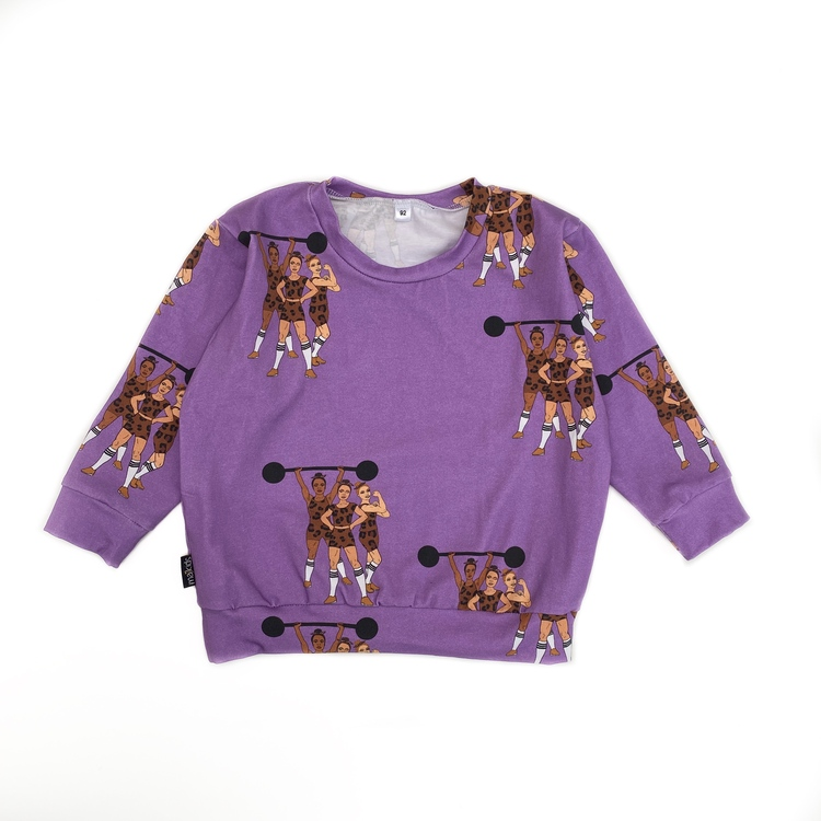 Sweatshirt - Strong Together lilac