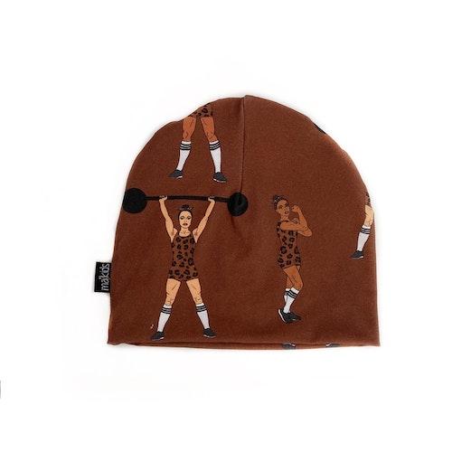 Mössa -  Strong Girls brun