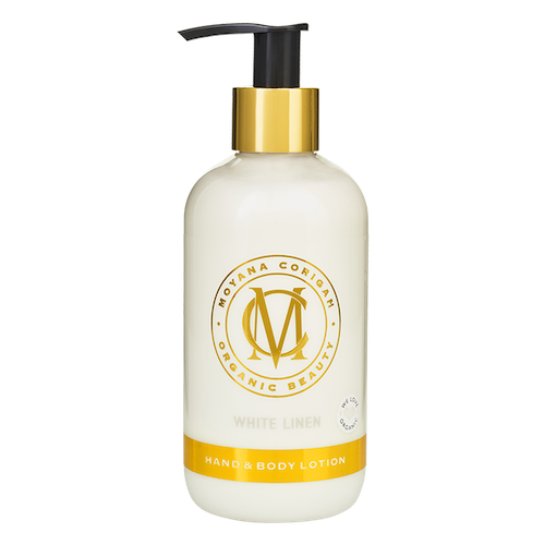 Hand & Body Lotion, White Linen 250ml