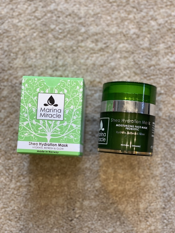 Marina Miracle Shea Hydration Mask 30 ml
