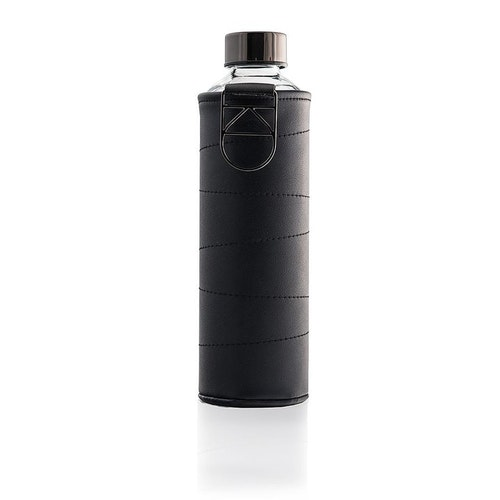 Vattenflaska EQUA WATER BOTTLE - MISMATCH FAUX LEATHER GRAPHITE