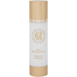 Royal Hand & Body Cream, Strawberry Champagne