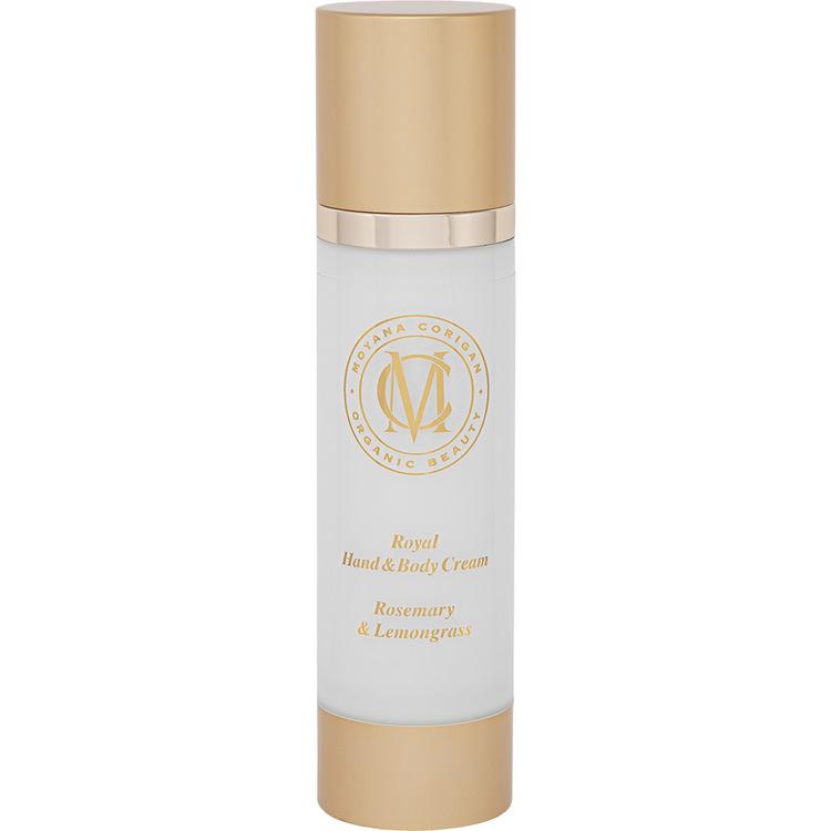 Royal Hand & Body Cream, Rosemary & Lemongrass