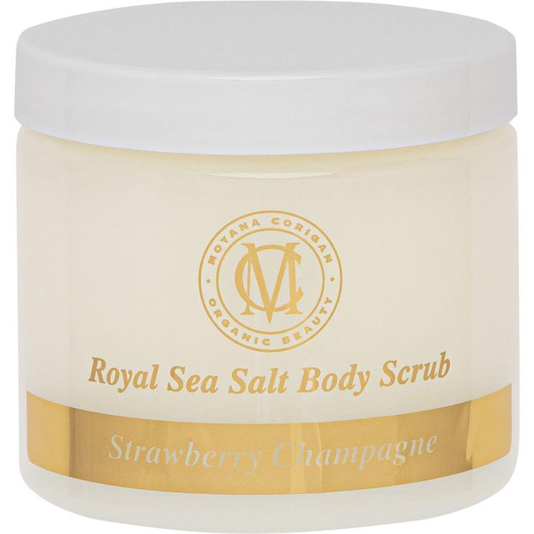 Sea Salt Body Scrub, Rosemary Lemongrass