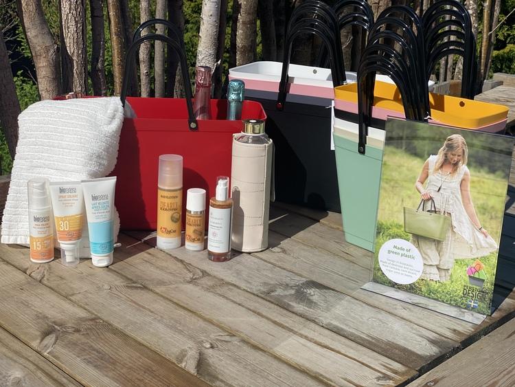 Väska Sweden Bag - Stor - (Green Plastic) flera färger