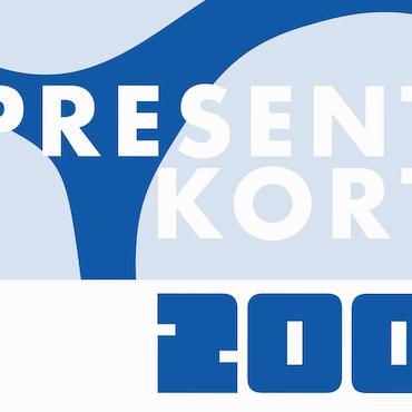 PRESENTKORT (200)