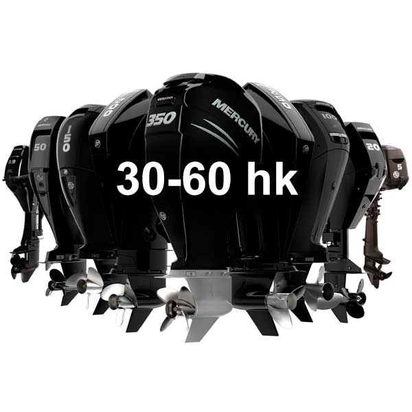 Mercury Utombordare FourStroke 30-60 hk - KANANMARIN