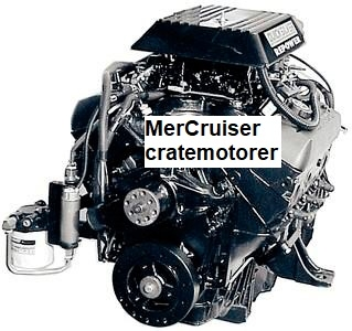 MerCruiser cratemotorer - KANANMARIN