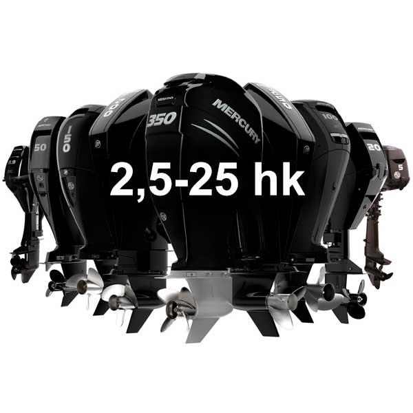 Mercury Utombordare FourStroke 2,5-25 hk - KANANMARIN