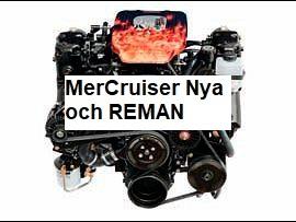 MerCruiser Nya och REMAN - KANANMARIN