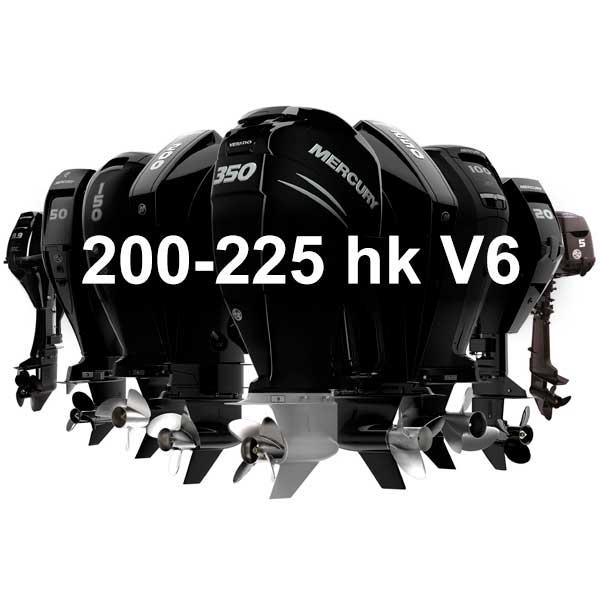 Mercury Utombordare Fourstroke 200-225hk V6 - KANANMARIN
