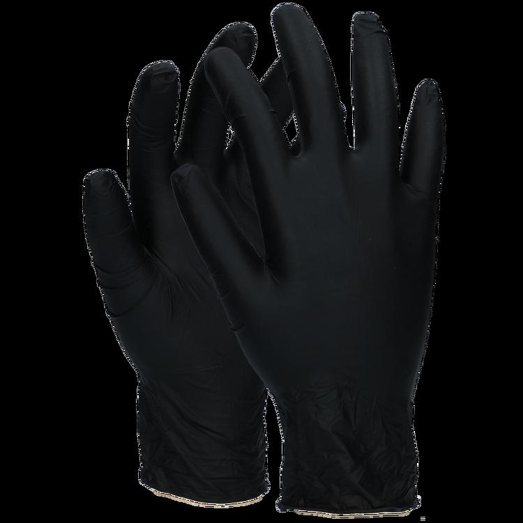 Nitrilfria handskar Medium  200st svarta