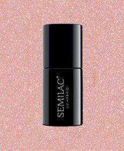 804 Semilac Extend  -5in1- Glitter Soft Beige 7ml.