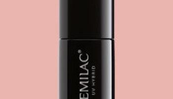 814 Semilac Extend base-5in1- Pastel Peach 7ml.