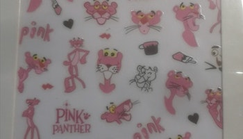2004 Sticker Pink Panther