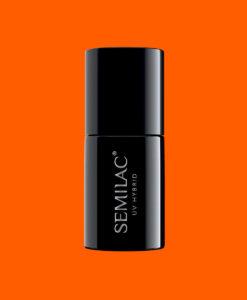 566 Semilac UV Hybrid NEON ORANGE 7ml.
