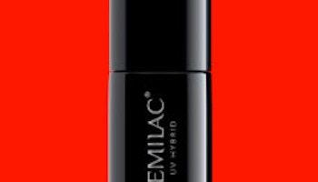 567 Semilac UV Hybrid NEON RED ORANGE 7ml.