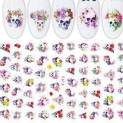 614 Döskalle Stickers