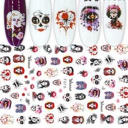 616 Halloween Stickers