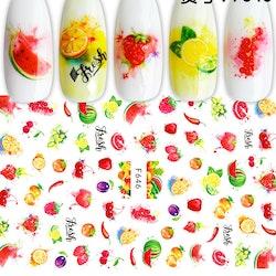 646 Frukt Stickers