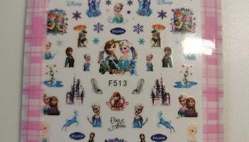 513 Frozen Stickers