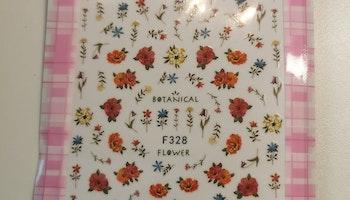 328 Botanical Stickers