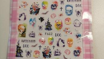 682 Halloween Stickers