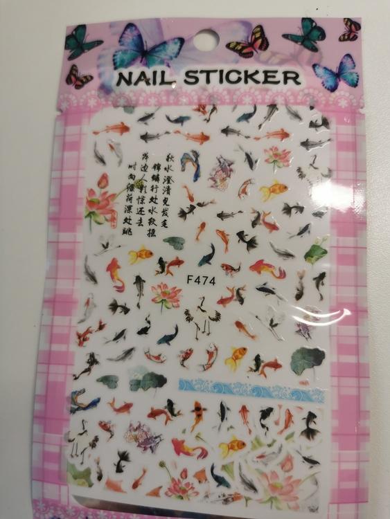 474 Japanska Koi Stickers