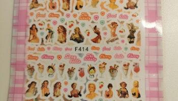 414 Pinuppa Stickers