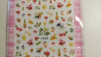 420 Tropisk Ananas Stickers
