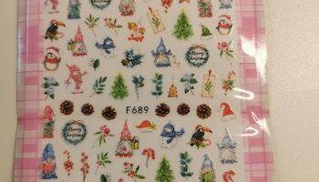 689 Snögubbe Stickers