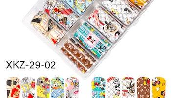 Nail foil Logos  4*100cm
