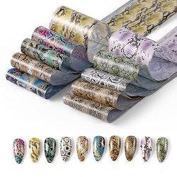 Nail foil Snake skin  4*100cm