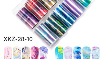 Nail foil Marble Blooming  4*100cm
