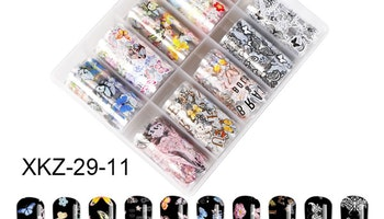 Nail foil Mixed Butterflies  4*100cm