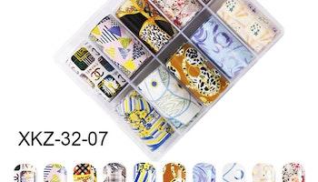 Nail foil Chanel leopard  4*100cm