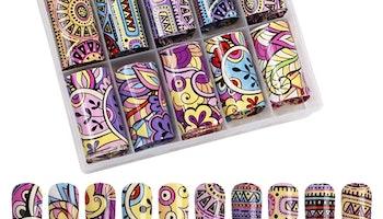 Nail foil inka pattern  4*100cm
