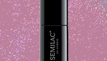 319 SEMILAC SHIMMER DUST PINK 7ML